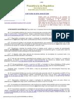 L14030 prorrogação de mandatos