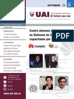 Boletín de septiembre de la Universidad Abierta Interamerciana