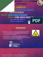 Isabel Garcia Rabanales- Toxicologia Ambiental 01 de septiembre 2020