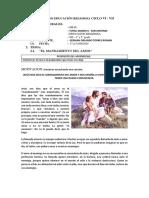 FICHA 14 DE EDUCACIÓN RELIGIOSA CICLO VI.pdf
