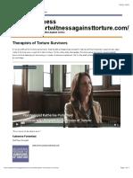 Therapists of Torture Survivors - Expert Witness.pdf