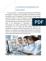 Significance of Clinical Preliminaries in Medicate Advancement 1,