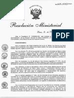Norma1. RM_624-2015-MINSA Alimentos de alto riesgo