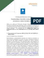 TdRs Consultor  Wapa Perú 2010-1