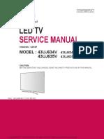 сервис мануал LG 43UJ634V шасси UD74P.pdf