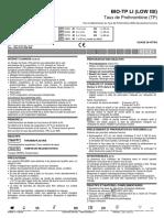BIO-TP LI (Low ISI) Taux de Prothrombine (TP)