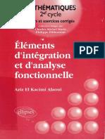 Eléments d'intégration et d'analyse fonctionnelle by Kacimi Alaoui, Aziz El el (z-lib.org).pdf