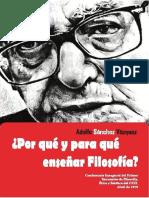 Folleto electrónico Adolfo Sánchez Vázquez
