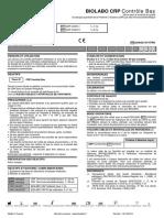 BIOLABO CRP Calibrants et contrôles 3