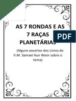 7 RONDAS - 7 RAÇAS E 7 SUBRAÇAS