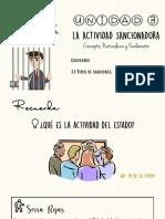 LA ACTIVIDAD SANCIONADORA DEL ESTADO