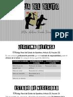 CAUSAS DE INEXISTENCIA DEL DELITO