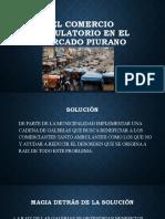 EL COMERCIO AMBULATORIO EN EL MERCADO PIURANO