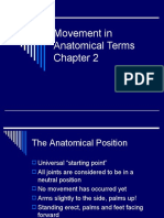 Movement in Anatomical Terms 2
