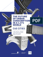 Arup C40 The Future of Urban Consumption in a 1 5C World