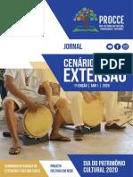 Jornal Cenários da Extensão - 1a Edição - Ano 1 - 2020