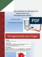 Aula Hemaglutinação para Chagas