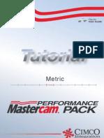MasterCam HSM tutorial