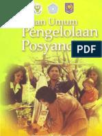 Pedoman Pelaksanaan Posyandu 2006