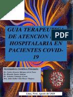 Guía Terapéutica en Atención Pre-Hospitalaria en COVID-19