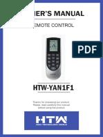 MANUAL DE USUARIO HTW-YAN1F1-ENG