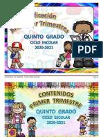 DOSIFICACION ANUAL DE QUINTO GRADO 2020-2021.pdf