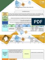 Matriz de proyección del plan de vida colectivo yohamer cedeño