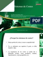 CHARLA SOBRE SISTEMAS DE COSTEO MÓDULO DE COSTOS 2011