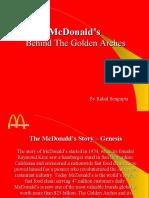 McDonalds MARKETING STRATEGY