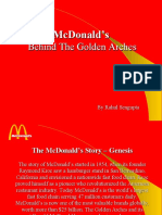 McDonalds MARKETING STRATEGY