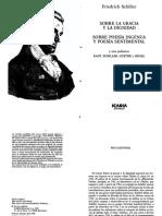 06- SCHILLER Friedrich Sobre la gracia y la dignidad. Sobre la poesía ingenua y poesía sentimental.pdf