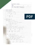 Assignment maths