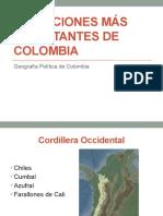 Elevaciones de Colombia