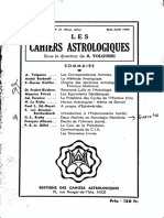 Cahiers Astrologiques 21