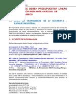 Porque No Presupuestar LT Mediante Precios Unitarios 29-08-2020