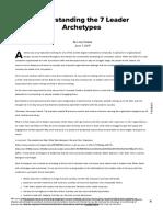Understanding the 7 Leader Archetypes (SHRM)