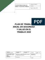 PLAN DE TRABAJO ANUAL 10 PERSONAS