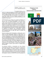 Pamplona - Wikipedia, la enciclopedia libre