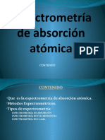 ESPECTROFOTOMETRIA DE ABSORCION ATOMICA