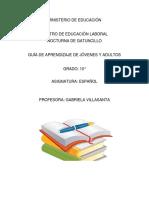 ESPAÑOL 10 CIENCIAS