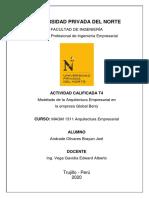 Arquitecura Empresarial T4 Brayan Andrade Olivares