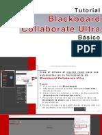 Tutorial Blackboard Collaborate Ultra básico US