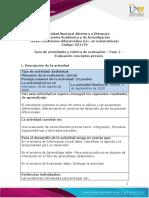 Guía de actividades y Rúbrica de evaluación - Fase 1 - Evaluación conceptos previos (1)