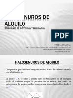 Sustitución-eliminación en halogenuros de alquilo (1)