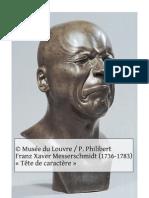 « Vespasien » de Suétone et Franz Xaver Messerschmidt
