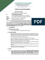 INFORME 0115-2020. SERVICIOS BASICO JAVIER CESAR JARA DUEÑAS