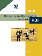 4.Normas sobre Operación de aeronaves RPAS