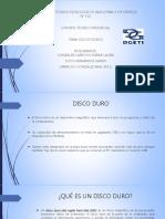 DISCO DURO WB1 y partes