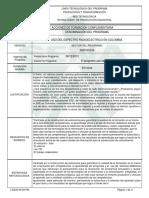 Informe Programa de F