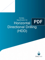 Pr9788 - Specification for Horizontal Directional Drilling (1)